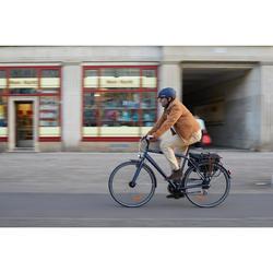 Sportieve stadsfiets heren Hoprider 100 blauw