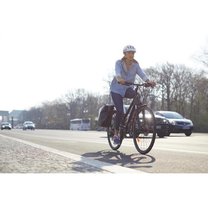 Stadsfiets voor lange afstanden Hoprider 900 lage opstap