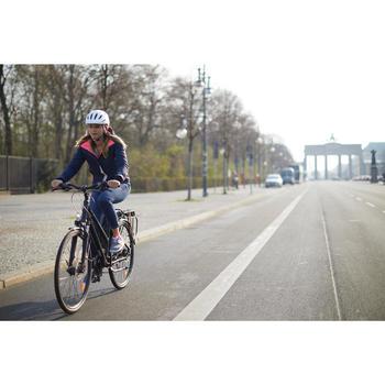 Stadsfiets voor lange afstanden Hoprider 900 hoog frame