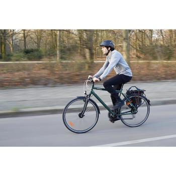 Stadsfiets lange afstanden Hoprider 500 hoge opstap - 1516065