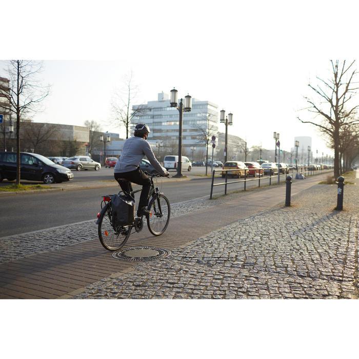 Stadsfiets lange afstanden Hoprider 500 lage opstap