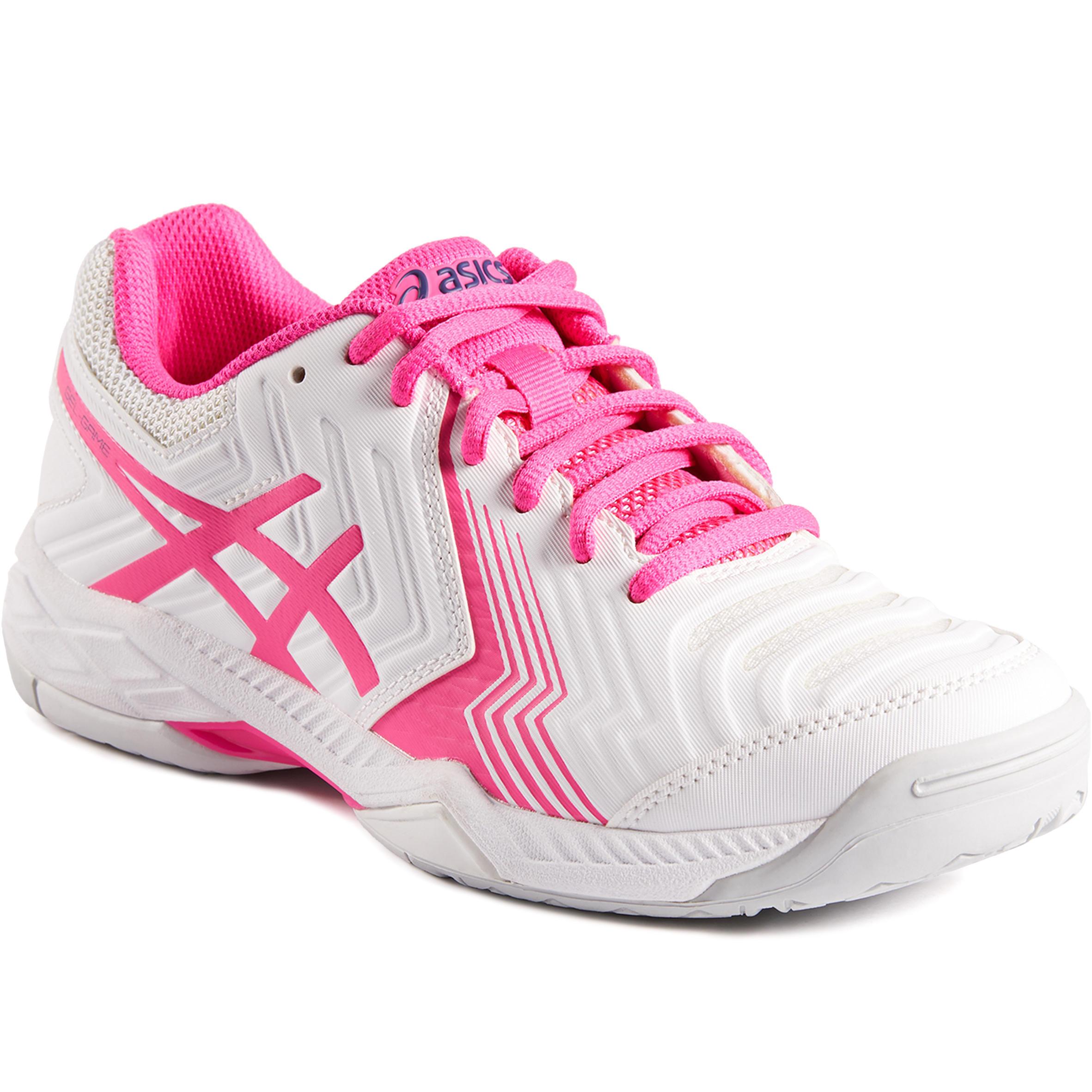 Asics Tennisschoenen voor dames Gel Game wit/roze