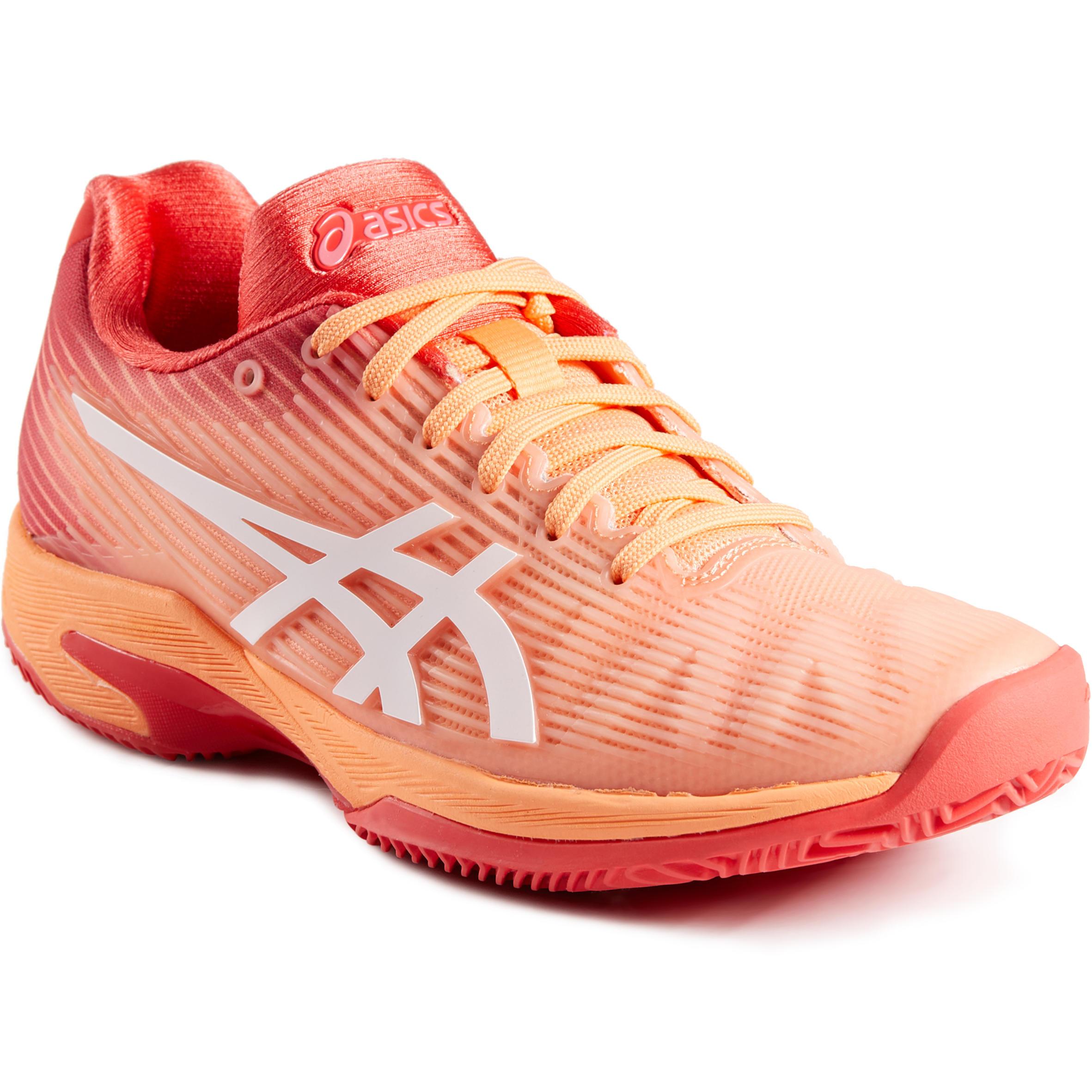 Asics Tennisschoenen voor dames Speed Clay koraalrood