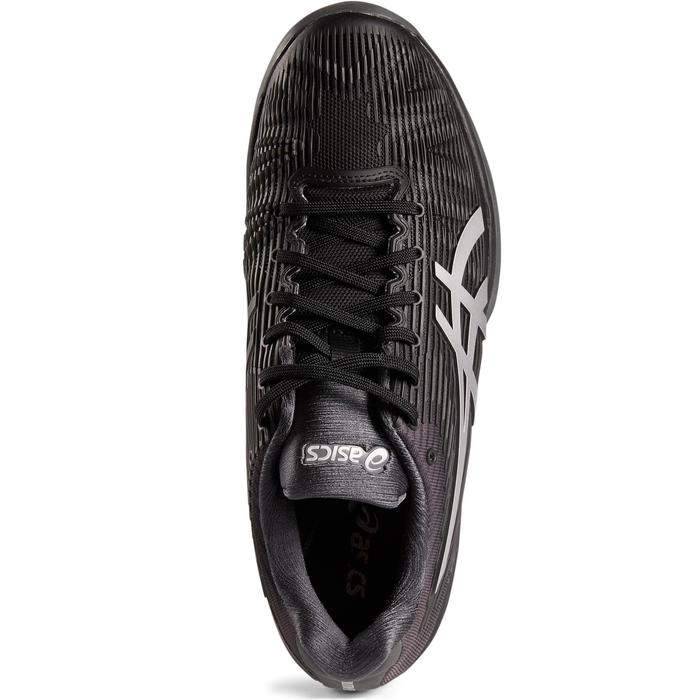 Tennisschuhe Gel Solution Speed 3 Multicourt Herren schwarz