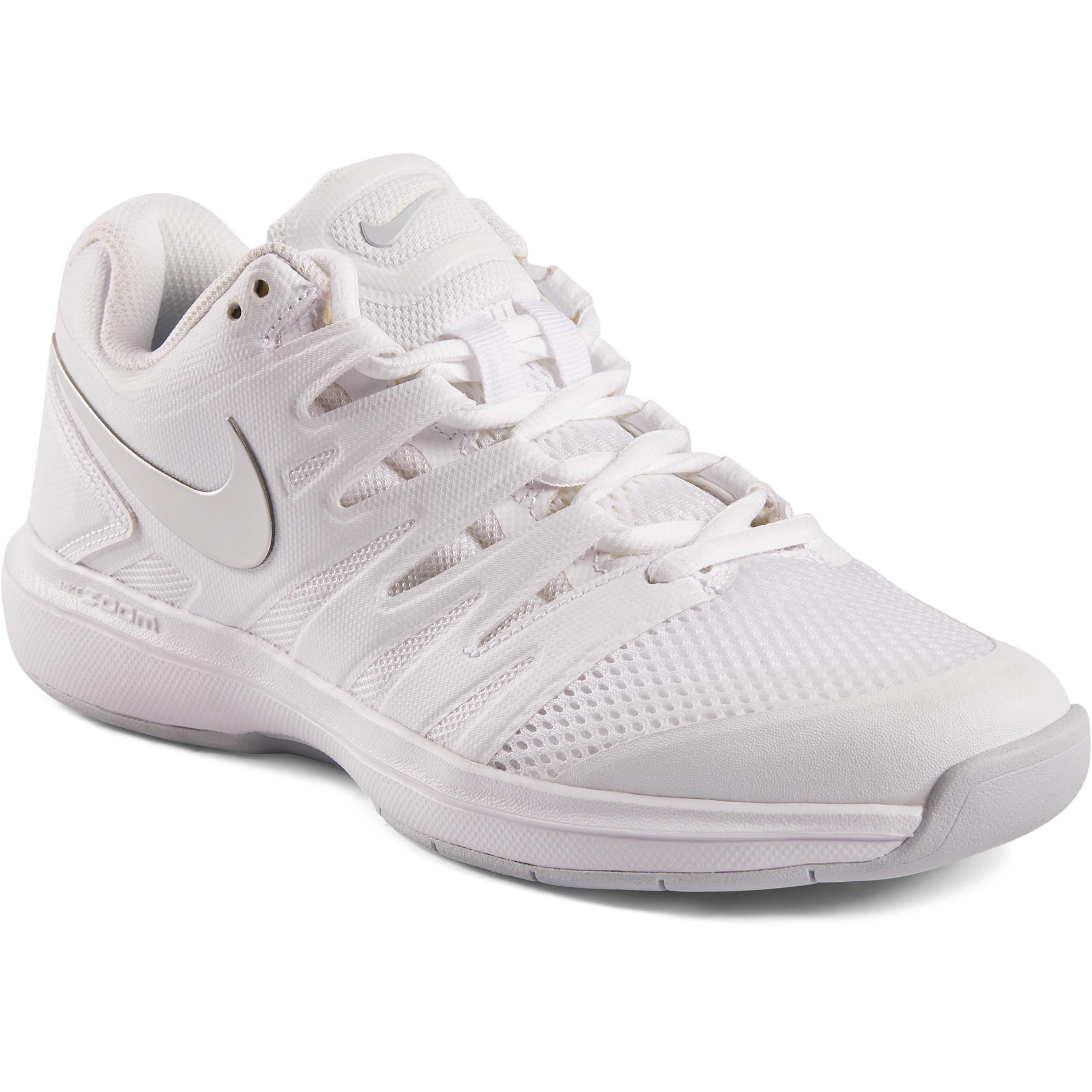 Tennisschuhe Zoom Prestige Indoor Damen weiß | Schuhe > Sportschuhe > Tennisschuhe | Nike