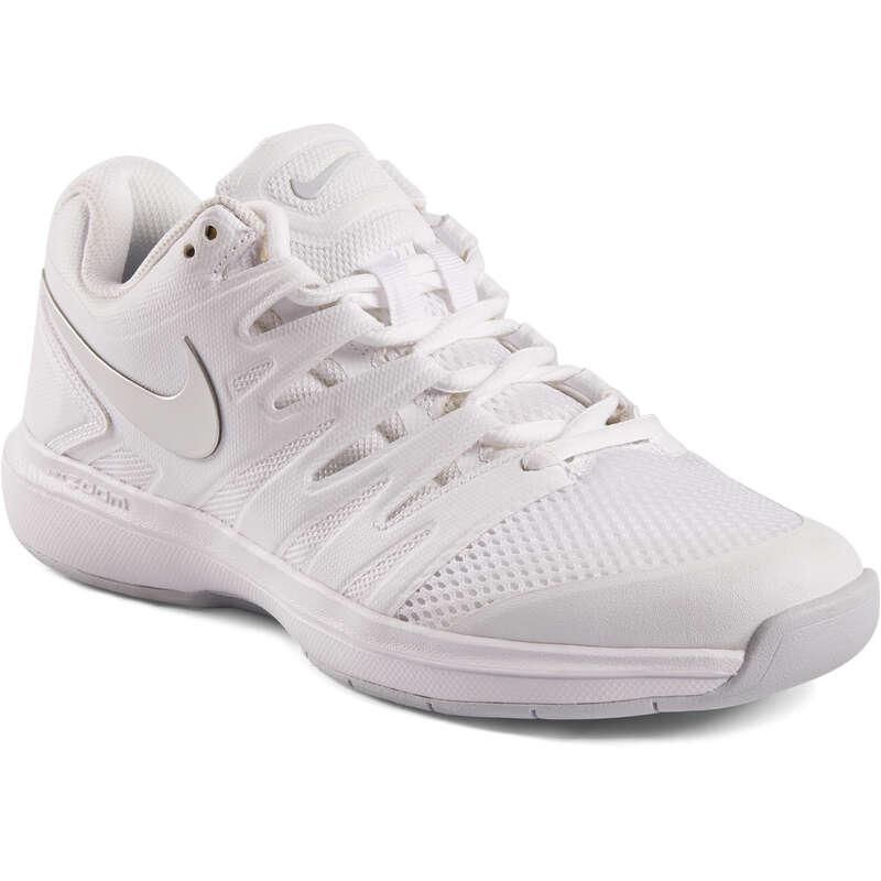 WOMEN CARPET SHOES Tennis - Zoom Prestige - White NIKE - Tennis Shoes