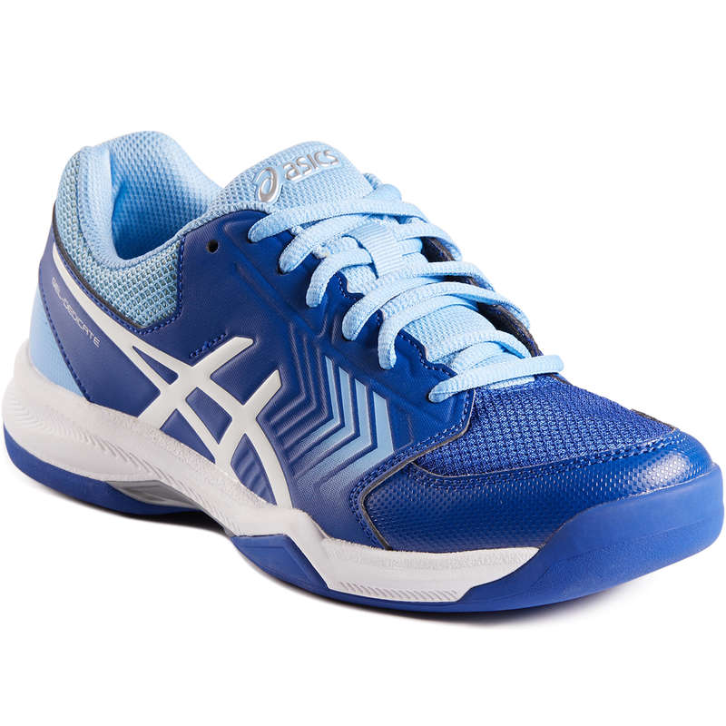 WOMEN CARPET SHOES Tennis - Women's Dedicate Carpet - Blue ASICS - Tennis Shoes