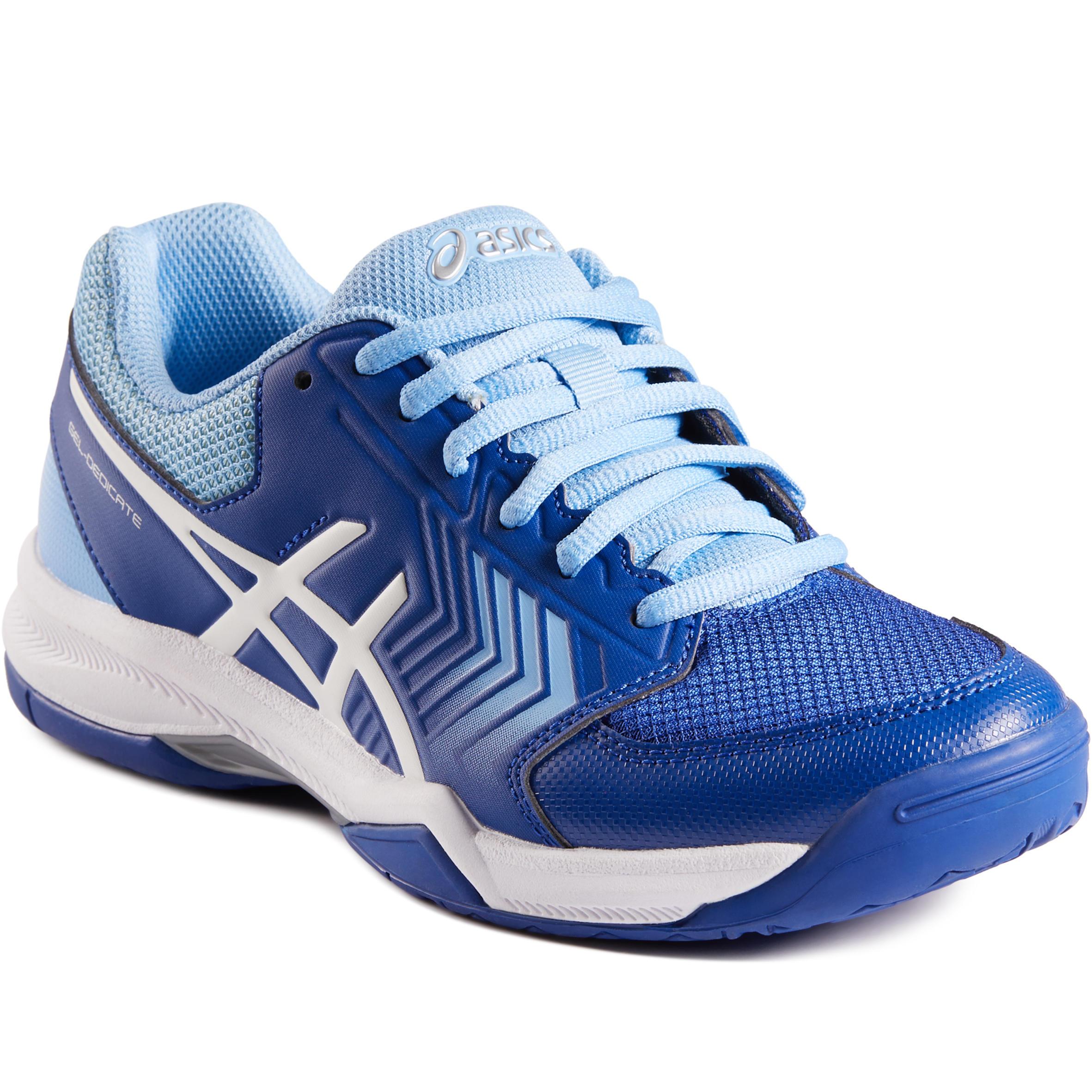 2637181 Asics Tennisschoenen voor dames Asics Gel Dedicate blauw