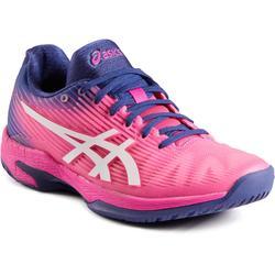 Tennisschuhe Gel Solution Speed Damen Flash rosa