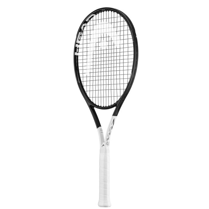 RAQUETA DE TENIS ADULTO SPEED MP NEGRO BLANCO