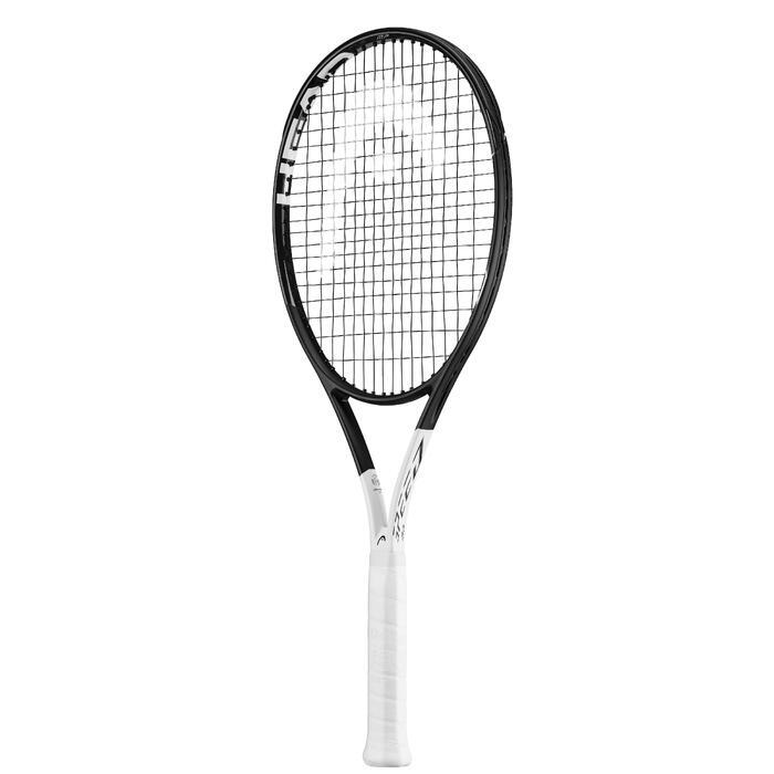 Tennisschläger Speed MP Erwachsene schwarz/weiß