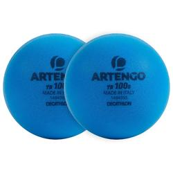 Foam Tennis Ball Twin-Pack TB100 - Blue