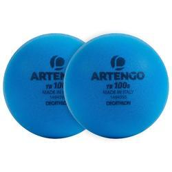 Tennisbal TB 100 S schuim blauw x2