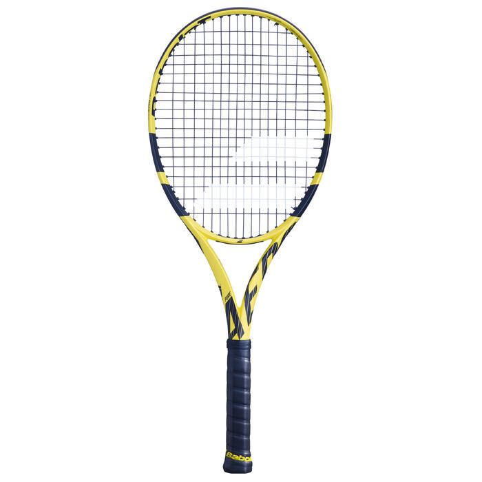 Tennisracket voor volwassenen Pure Aero Team geel