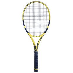 Tennisschläger Pure Aero Team besaitet gelb
