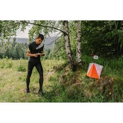 Calcetines largos reforzados y resistentes para carreras de orientación negro
