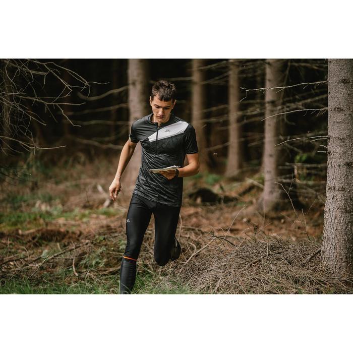Calcetines adultos running carreras de orientación negro