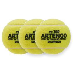 BALLE DE TENNIS ARTENGO TB 160 X3