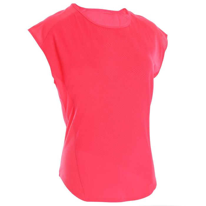 120 Women's Loose Cardio Fitness T-Shirt - Pink