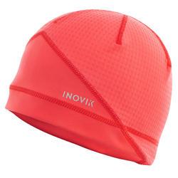 Gorro de esquí de fondo mujer rosa XC S BEANIE 500