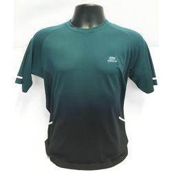 Hardloopshirt heren Kiprun Care groen zwart