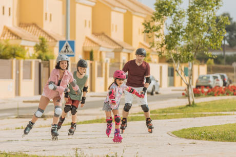 S'IL A L'ESPRIT DE FAMILLE : LE RANDO ROLLER
