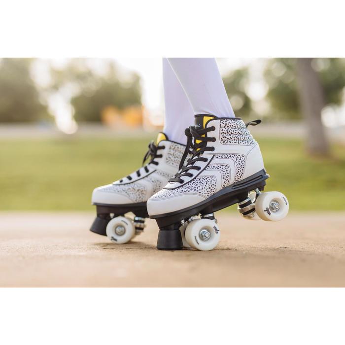 Rolschaatsen 100 voor kinderen wit Memphis