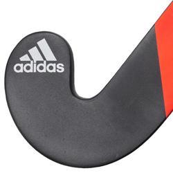 Stick de hockey sur gazon adulte confirmé extraLB 20% carbone TX24Compo4 rouge