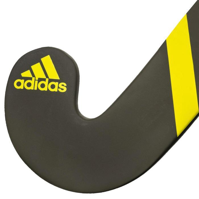 Hockeystick volwassenen halfgevorderd lowbow 50% carbon LX24 Compo2 geel