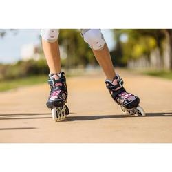 Inline Skates Inliner FIT 500 Kinder blau/rosarot