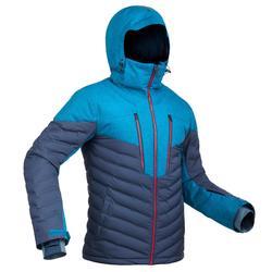 Ski-jas heren voor pisteskiën SKI-P JKT 900 Warm marineblauw