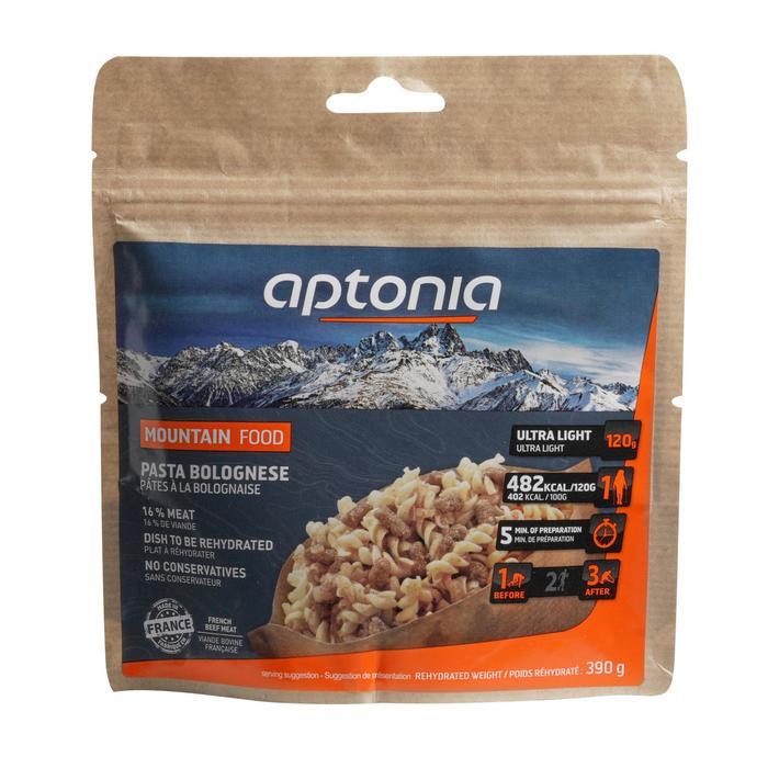 Repas déshydraté trekking MOUNTAIN FOOD pâtes à la bolognaise 120g - 1517116