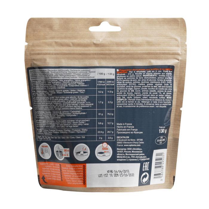 Vriesdroogmaaltijd Mountain Food ham met linzen 130 g