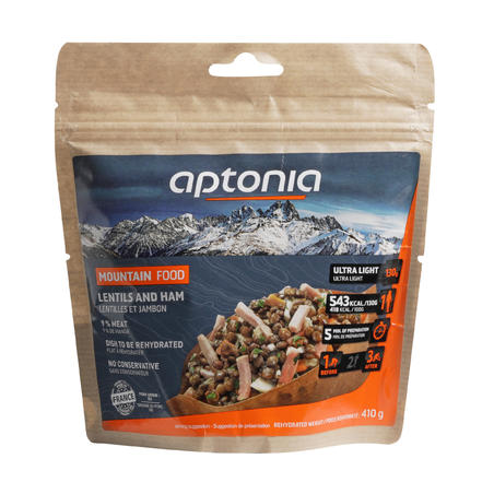 Ham Lentil Dehydrated Mountain Food Hiking Meal - 130 g