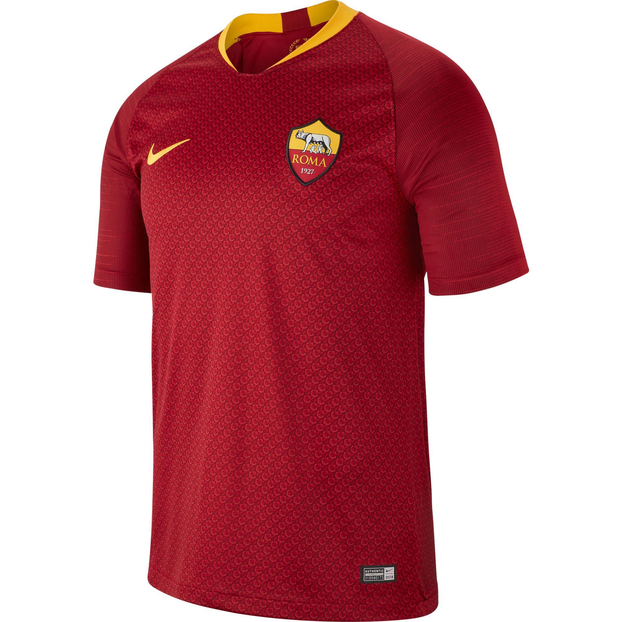 Fußballtrikot AS Roma Erwachsene rot   Sportbekleidung > Trikots > Fußballtrikots   Rot   As   Nike