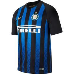 Voetbalshirt Inter Milan thuisshirt 18/19 voor volwassenen blauw/zwart
