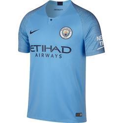 Camiseta de fútbol para niños réplica Manchester City azul