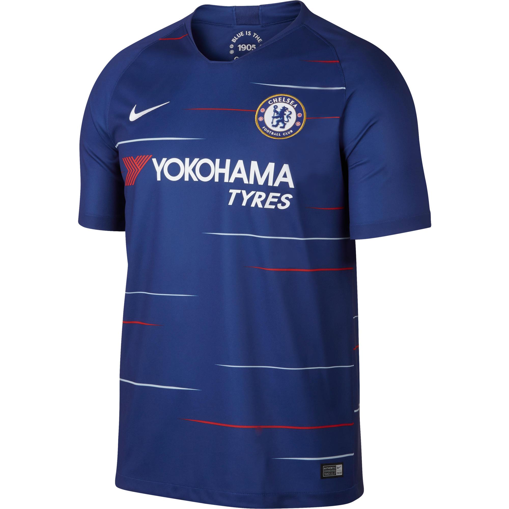 fd250c5858bca Camiseta de Fútbol Nike oficial Chelsea 1ª equipación niños 2018 2019