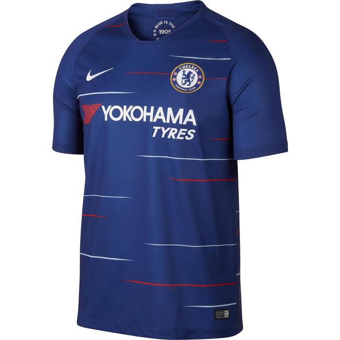 Voetbalshirt Chelsea thuisshirt 18/19 voor kinderen blauw