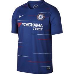 Voetbalshirt voor kinderen, replica thuisshirt Chelsea blauw.