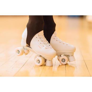 Rolschaatsen voor kunstrijden 100 wit