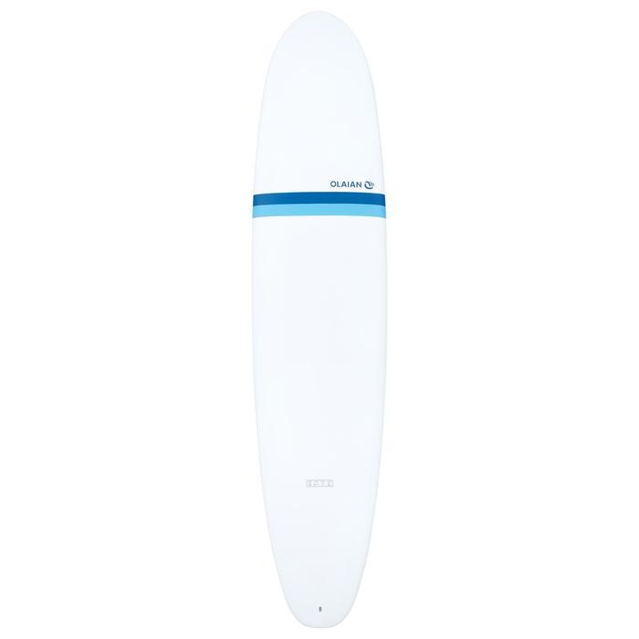 """Hardtop surfboard Malibu 8'2"""" 500 . Geleverd met 3 vinnen."""