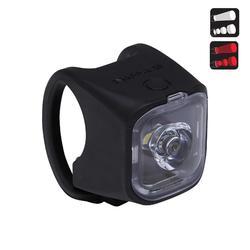 USB充電LED前後照明自行車燈組VIOO City 500 - 黑色