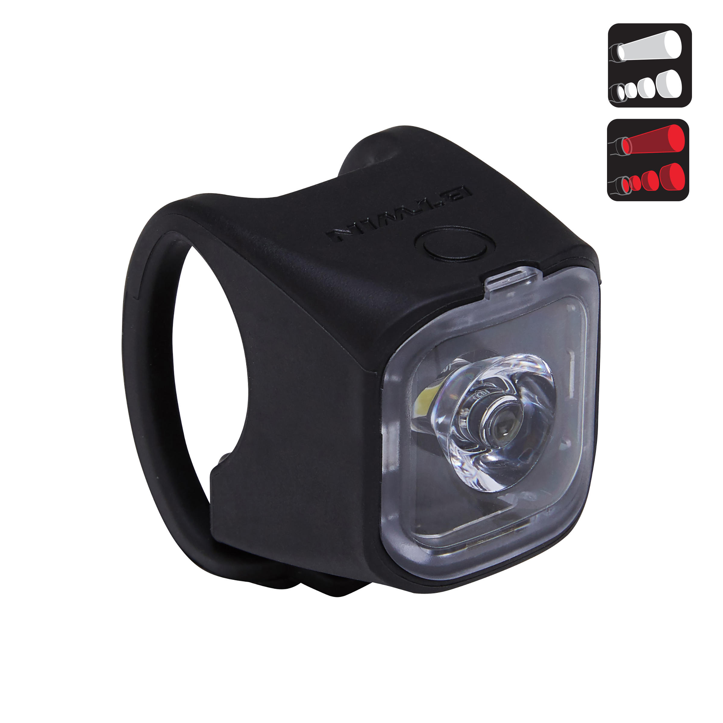 VIOO City 500 Front/Rear LED Bike Light Set USB - Black