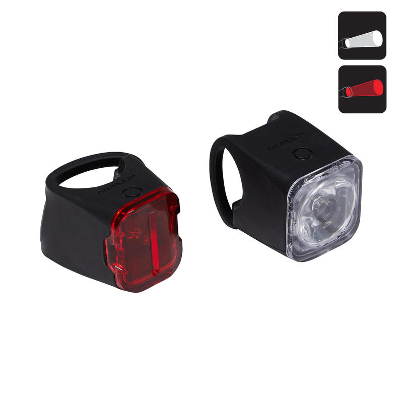 VIOO Road 500 Cycling Front/Rear LED USB Bike Light Set