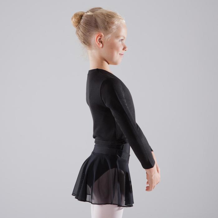 Cache-cœur de danse classique fille rose pâle - 1517397