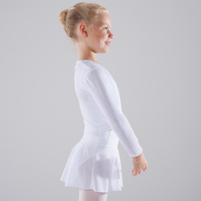 Cache-coeur voor ballet, voor meisjes, wit