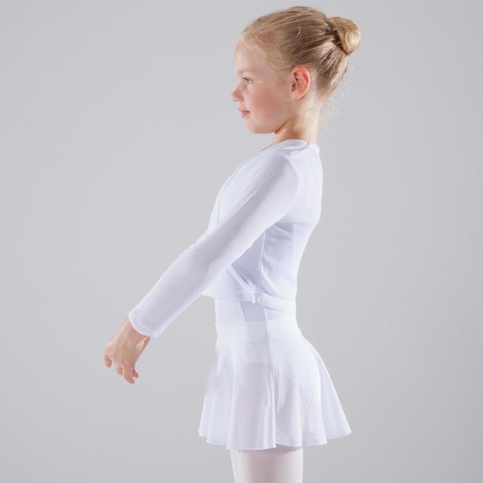Cache-cœur de danse classique fille rose pâle - 1517417