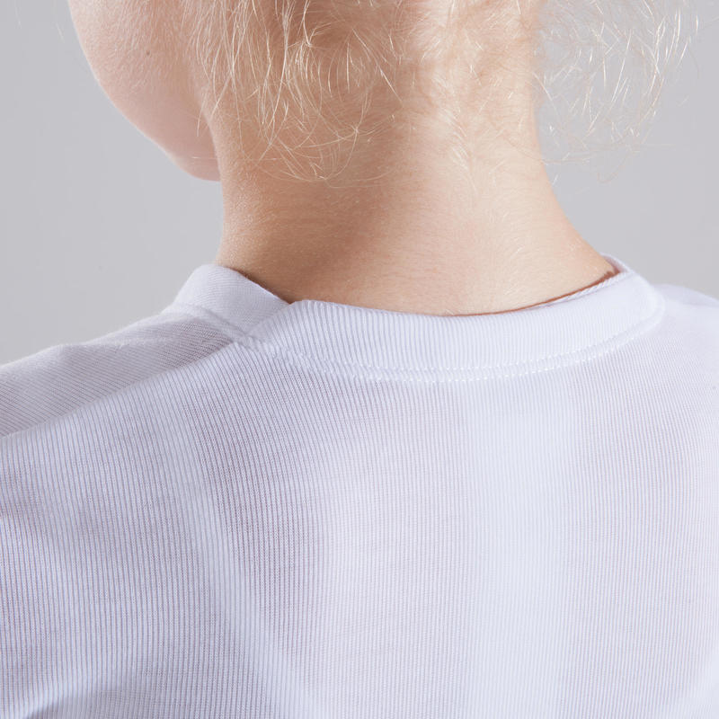 Girls' Ballet Wrap Top - White