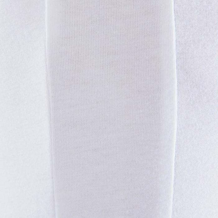 T-shirt danse classique blanc manches courtes garçon